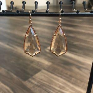 Kendra Scott Rose Gold Carla earrings